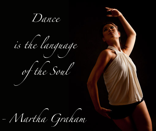 Dance quote - Dance is the language of the soul